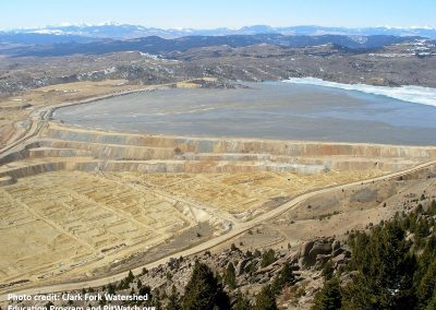 Yankee Doodle Tailings Dam failure mode analysis.